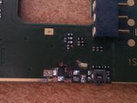 Nokia N73-1 - Wlutowanie przycisku podgłaszania