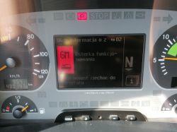 Mercedes Actros 3244 Mp2 - Błąd GM HM gdzie szukać przyczyny