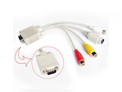 Pod��czenie Tv do komputera karta graficzna ASUS EAX1050