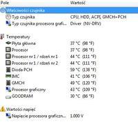 Samsung RC710 - niewidoczny wentylator, wysokie stałe obroty.