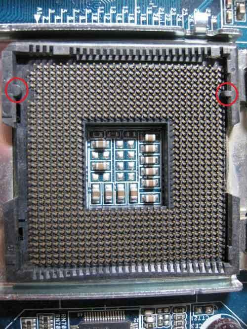 Poradnik - Montaż procesorów LGA 771 w płytach LGA 775