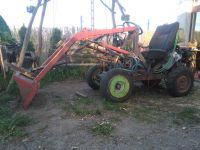 SAM tractor with front linkage