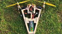 Bicopter - dwuśmigłowy model latający