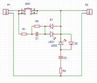 Podłączenie dwukolorowej diody LED