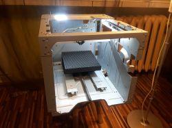 Frezarka CNC-fotorelacja i projekt obrabiarki na bazie drukarek Lexmark X656DE