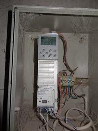 Współpraca falownika lenze 8200 vector z czujnikiem temperatury