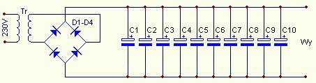 Zasilacze stabilizowane. Zamieszczone schematy.
