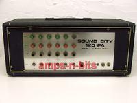 Sound city PA 120 (nie head gitarowy) - schemat, paczka