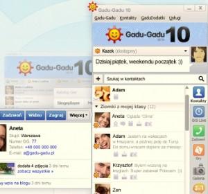 Gadu Gadu 10- dostępne w sieci