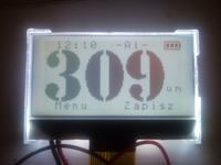 [avr][bascom] Obsługa wyświetlacza graficznego na UC1601s