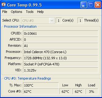 Laptop Acer Aspire 5315 przegrzewa się ! Temp CPU wysoka.