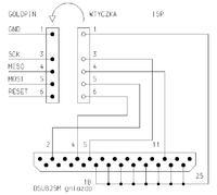 ATmega8 Programowana przez LPT nie działa.