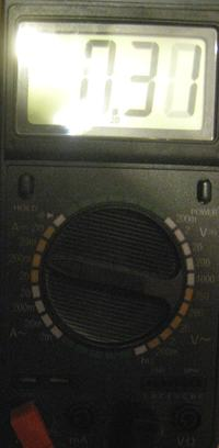 Miernik DT9208A - pomiar temperatury