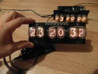 Zegar NIXIE według schematu KRZKOMAR