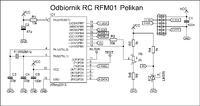 Prosta aparatura RC 433MHz na Atmega8 i Attiny2313