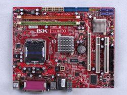 MSI MS-7529 - Komputer się włącza brak obrazu na monitorze