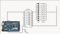 Układ na mikrokontrolerze do sterowania Led