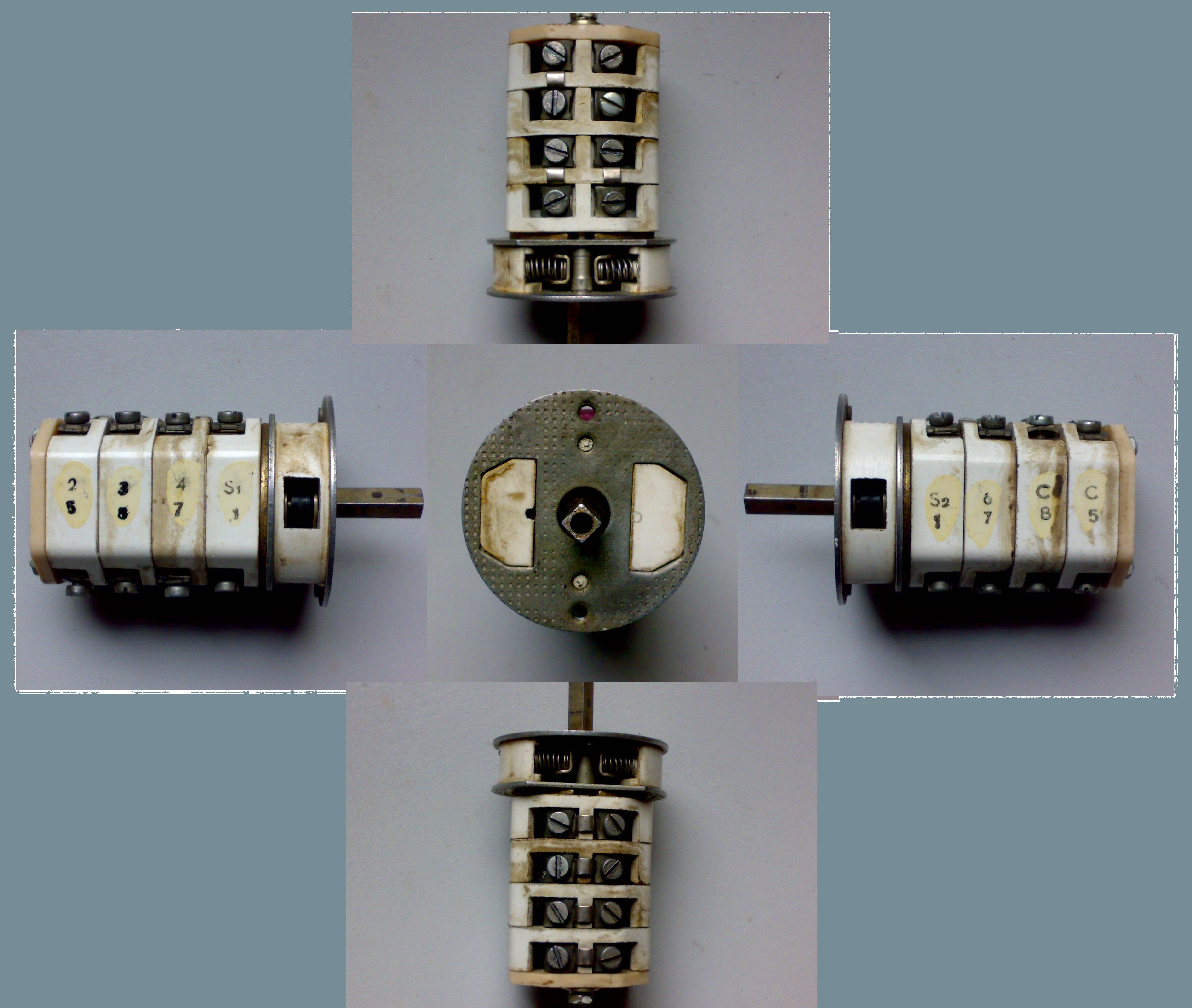 schemat pod��czenie silnika jednofazowego dwubiegowego z kondensatorem