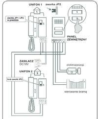Domofon Orno OR-DOM-SG-919 - nie działa elektrozaczep