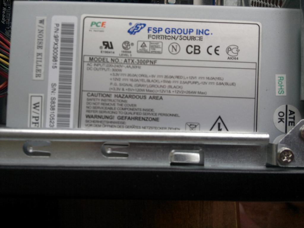 Gigabyte GA-H55M-S2H - MAIN BIOS CHECKSUM ERROR!