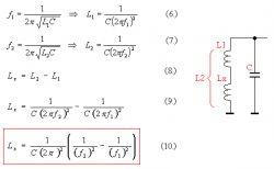 Miernik pojemności/indukcyjności (PIC16F628)