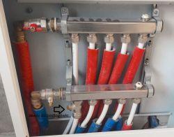 sterowanie temperaturą grzejniki + podłogówka kocioł Broetje
