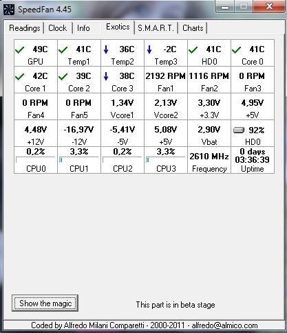 podkrecanie procesora Intel Core2 Quad 2.40Ghz