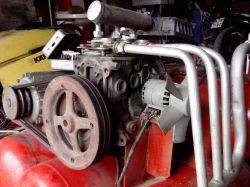 Kompresor z silnika Matiza