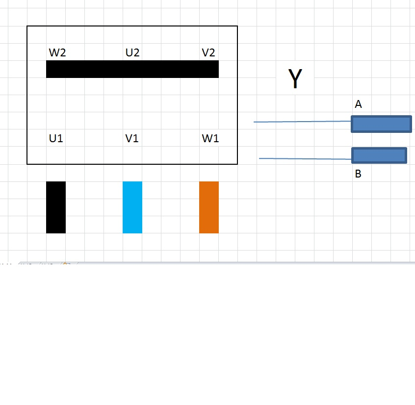 VEB Elektromotorenwerk DNK 135 - Jak pod��czy� na jedn� faz�