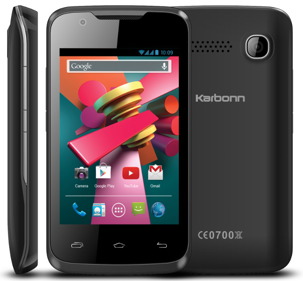 "Karbonn A5 Turbo - smartphone z 3,5"" ekranem, Dual SIM i KitKat za 165 z�"