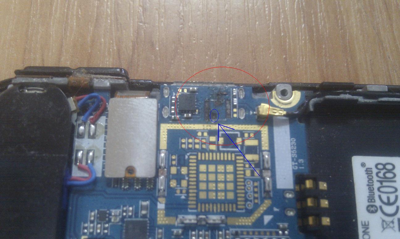 Samsung Avila- wyrwany konektror anteny