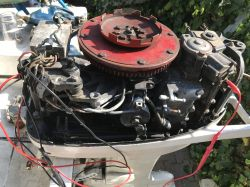 Mercury 40HP - Silnik zaburtowy Mercury 40HP 402 Thunderbolt - brak iskry