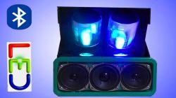 Jak zrobić Głośnik bluetooth, do telefonu - super efekt led