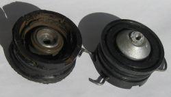 Pralka Bosch WOB 1200 - urwane mocowanie łożyska biernego