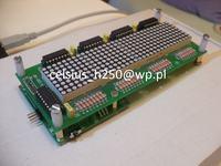 [Sprzedam] Wyświetlacz LED 32x8 (4x 8x8 RED) + sterownik.
