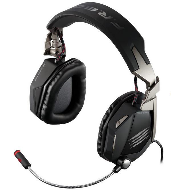 Mad Catz F.R.E.Q. 7 7.1 - zestaw s�uchawek z systemem Surround Sound dla graczy
