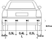 """Opel Vectra C - czujnik cofania czasami """"piknie"""" jadąc do przodu."""
