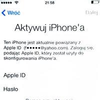 [Zrobi�] Zdj�cie blokady iCloud / Apple ID
