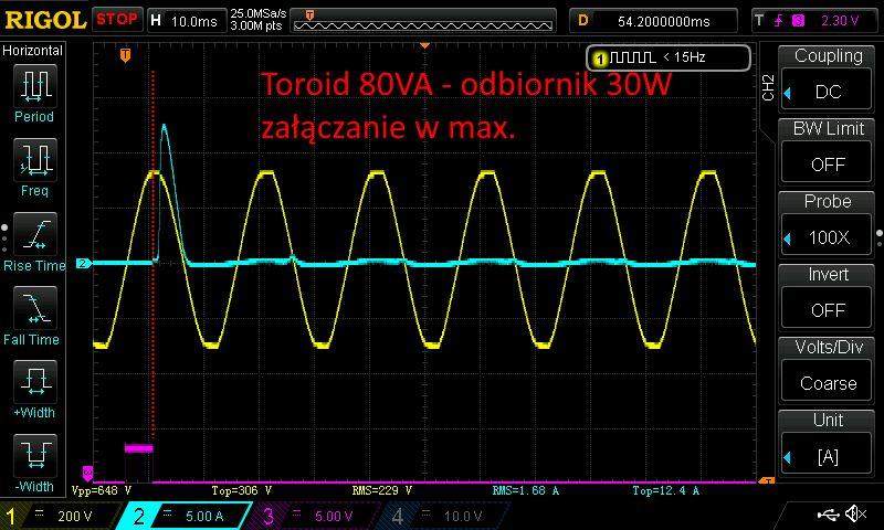 Załączanie transformatorów triakiem - #37 edu elektroda.pl