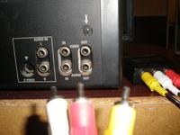 Podłączenie telewizora do tunera przez czincze