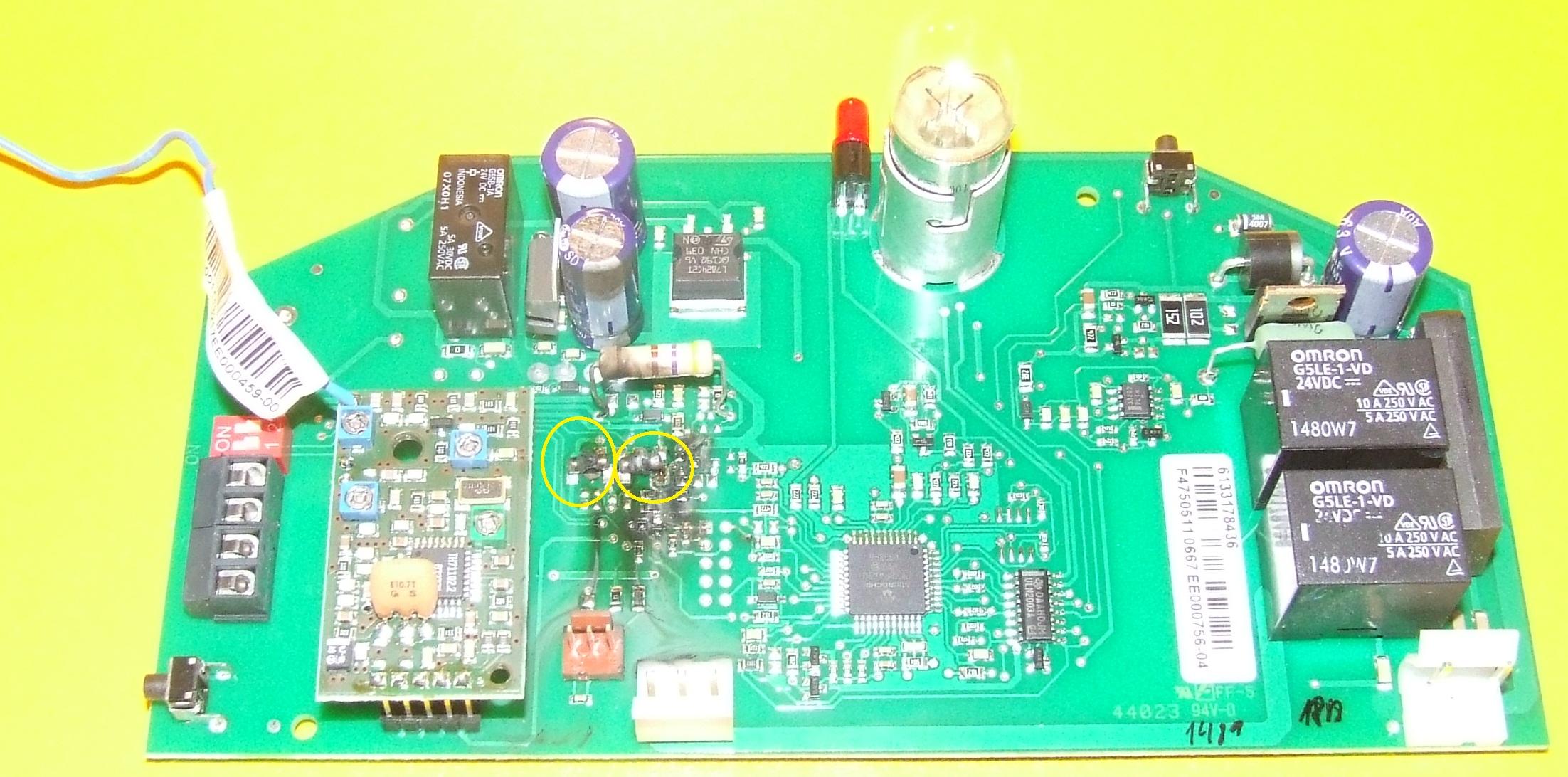 Ecostar AGS VDE 0700  - Dodatkowe radio przy nap�dzie Ecostar