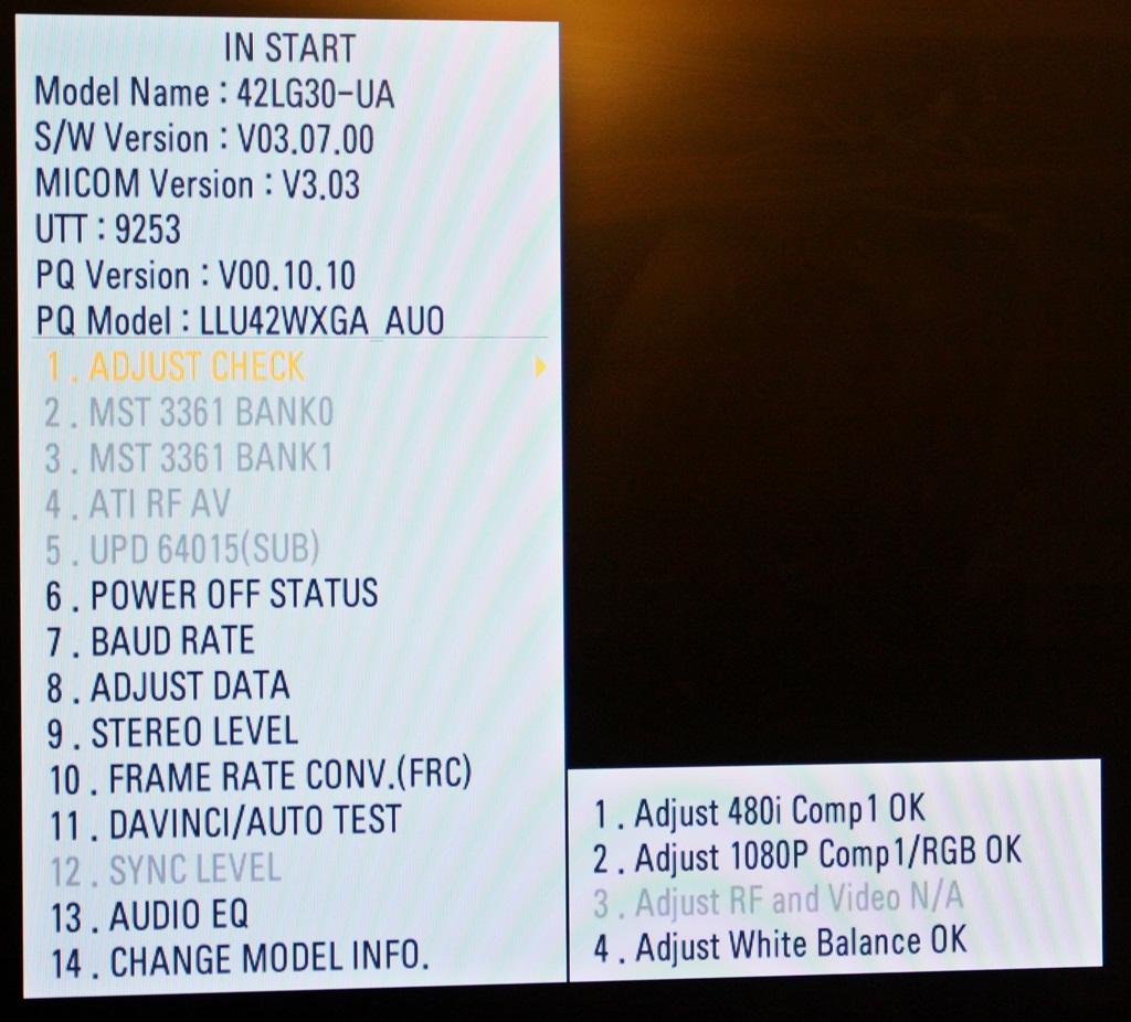 Telewizor LG  42LG30 - UA (NTSC) czy mozna wlaczyc PAL ?