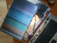 Laptop Medion - zepsuty ekran.