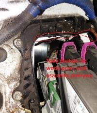 Corsa C przcieka na dywanik kierowcy