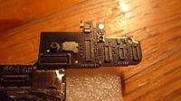 iPhone 4g nie dzia�a LCD, brak sygna�u z p�yty g��wnej.