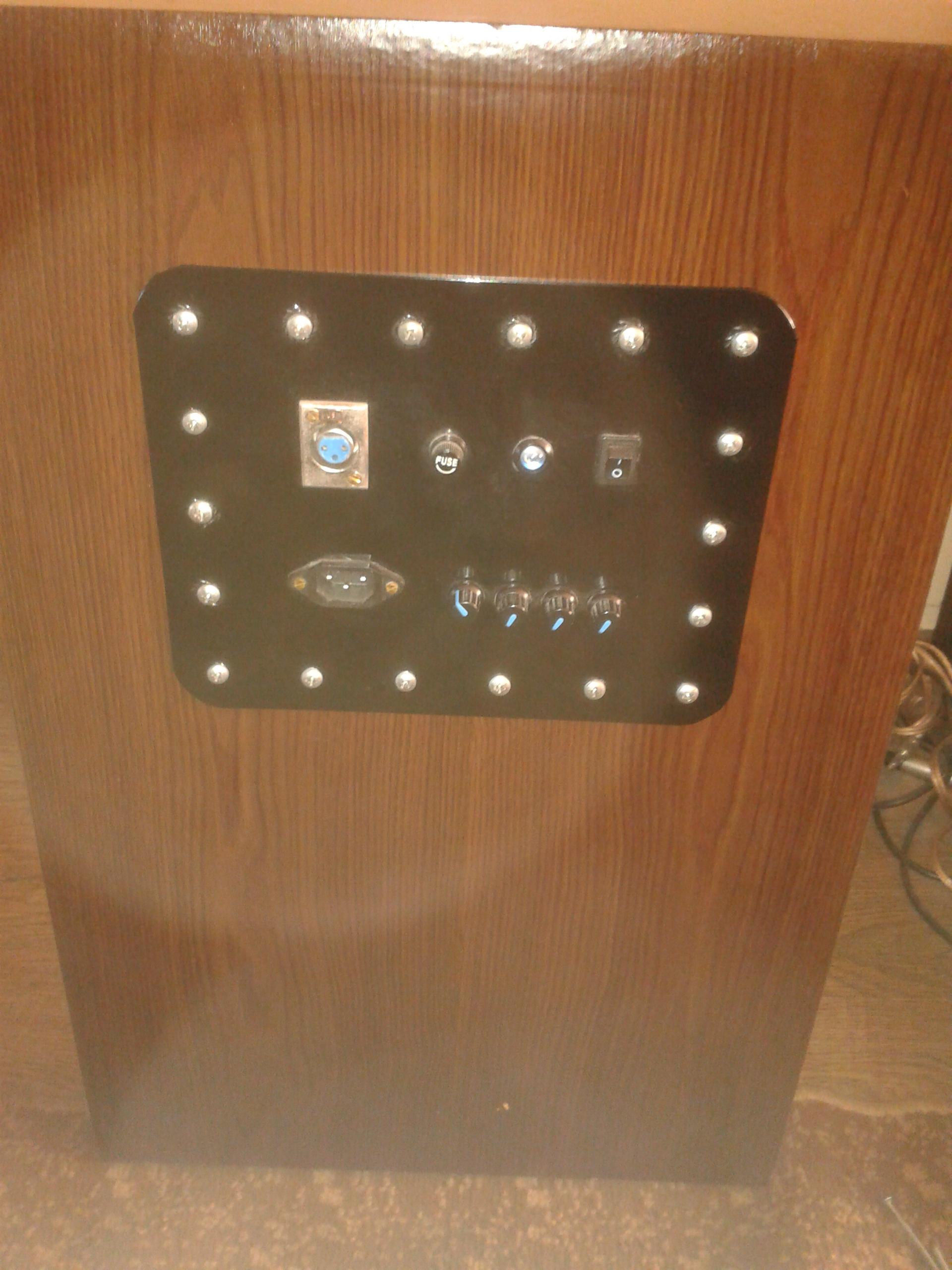 [Sprzedam] Wzmacniacz 2x TDA 7294 (200W) + trafo + filtr + panel