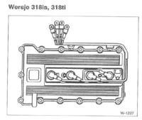 BMW E36 318is - czujnik wałka rozrządu.