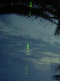 Projektor LCD Mitsubishi HC5500 wyświetla pionowy zielony pasek