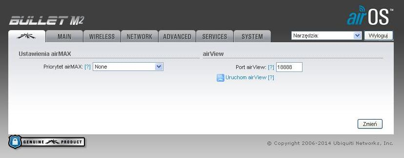 Ubiquiti Bullet M2 HP, po��czony z sieci� ale brak internetu.