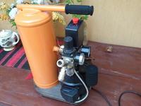 Kompresorek do malowania ze spr�ark� z lod�wki 2